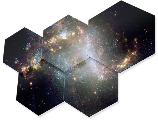 Hexagonal segments of the E-ELT mirror. Credit: ESO