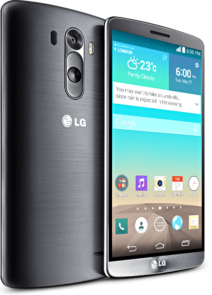 New LG G3 Smartphone