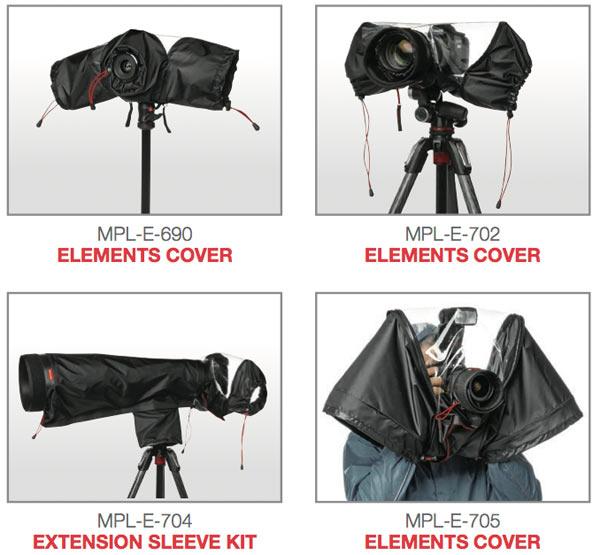 Manfrotto: Camera Raincovers