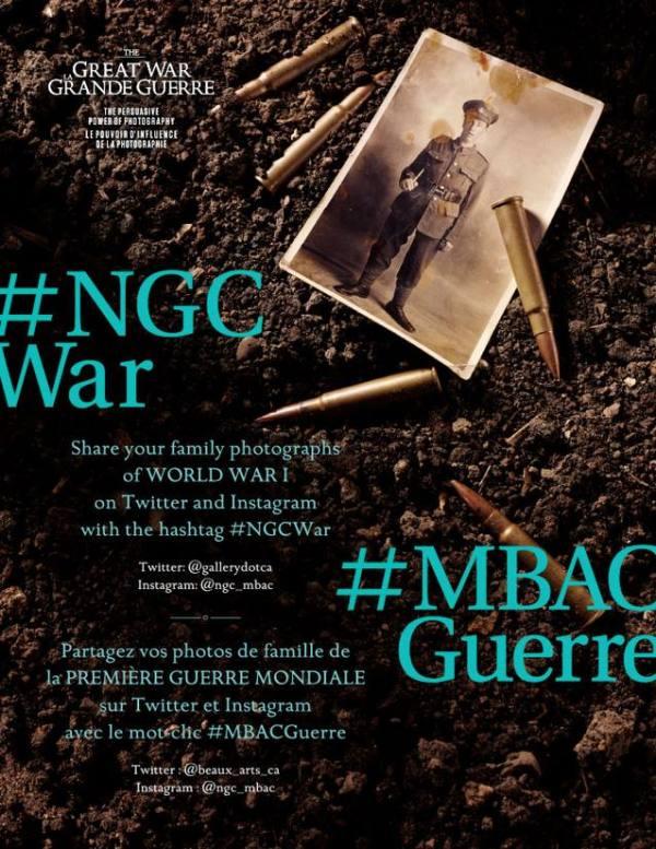 The Great War: The Persuasive Power of Photography // La Grande Guerre: Le pouvoir d'influence de la photographie