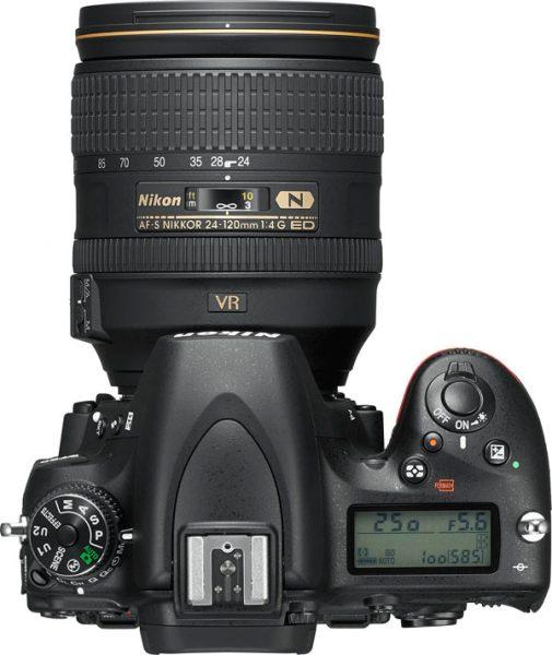 Nikon D750 with AF-S NIKKOR 24-120mm f/4G ED VR Lens