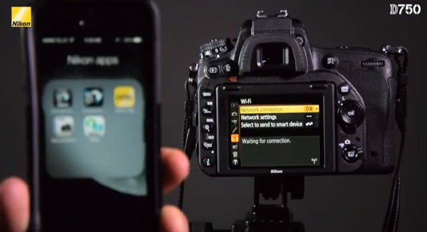 Using Nikon's free Wireless Mobile Utility App¹, users can connect with their compatible mobile device, such as a smart phone or tablet.