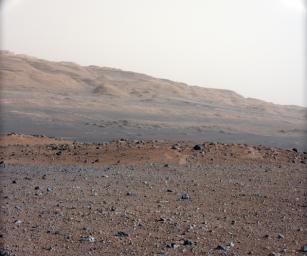 """Focusing the 34-millimeter Mastcam."" Image Credit: NASA/JPL-Caltech/MSSS."