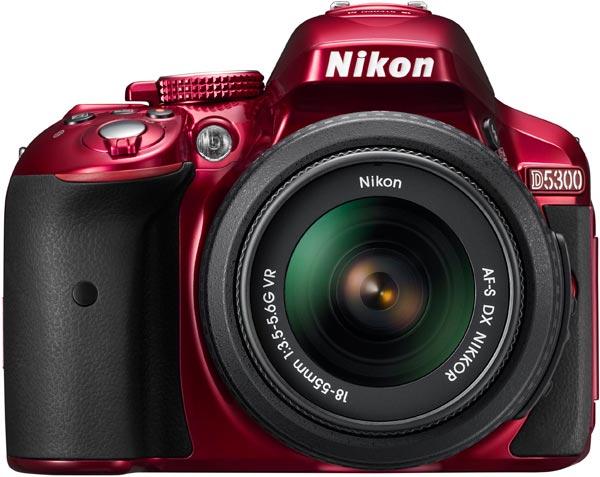 Nikon D5300, red