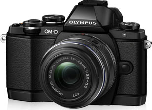 Olympus E-M10 Standard Kit, black