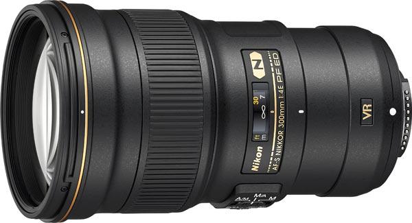 AF-S NIKKOR 300mm f/4E PF ED VR Telephoto lens