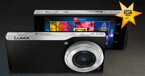 "Panasonic Lumix DMC-CM1: ""Largest camera sensor ever on a mobile phone."""