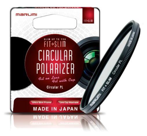 Marumi FIT + SLIM Series: Circular Polarizer