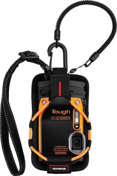 Olympus Stylus Tough TG-860, orange, with CSCH-123 Sport Holder