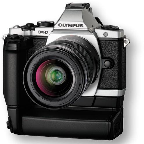 Olympus OM-D E-M5 + HLD-6 Kit