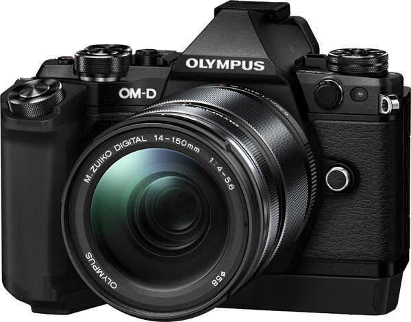 Olympus OM-D E-M5 Mark II with HLD-8G Non-powered Grip