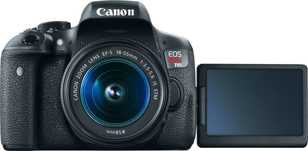 Canon EOS Rebel T6i and 18-55mm IS STM lens