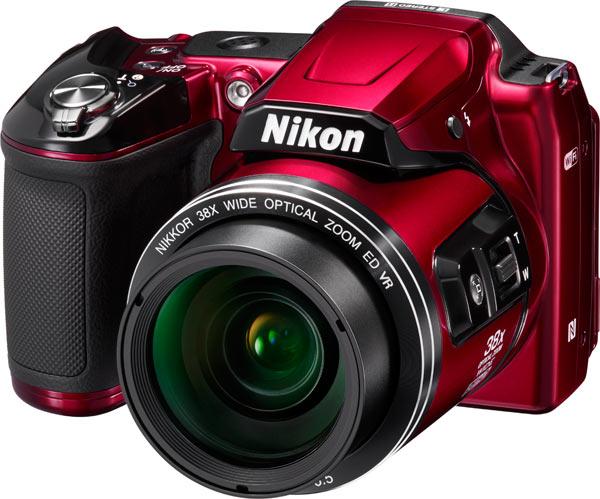 Nikon COOLPIX L840, red
