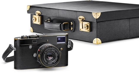 Leica M-P 'Correspondent' By Lenny Kravitz edition includes the camera strap, wrist strap, and custom case.