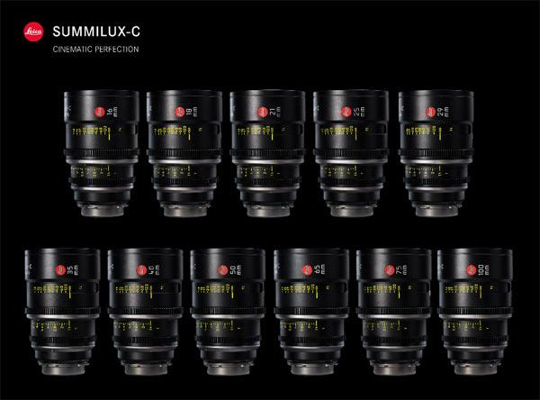 Leica Summilux-C lenses