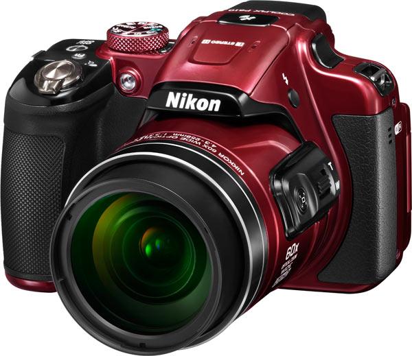 Nikon COOLPIX P610, red
