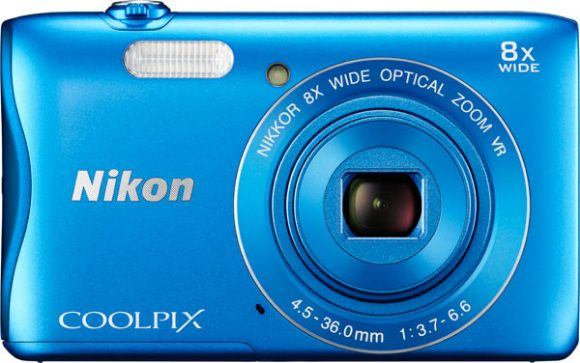 COOLPIX S3700, blue