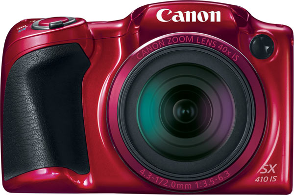 Canon PowerShot SX410 IS, red