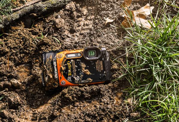 Olympus Stylus Tough TG-860, orange: crushproof, waterproof, shockproof, dustproof