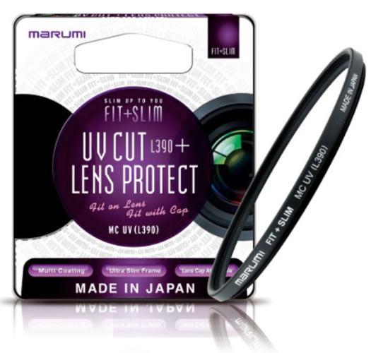 Marumi FIT + SLIM Series: UV Cut + Lens Protect