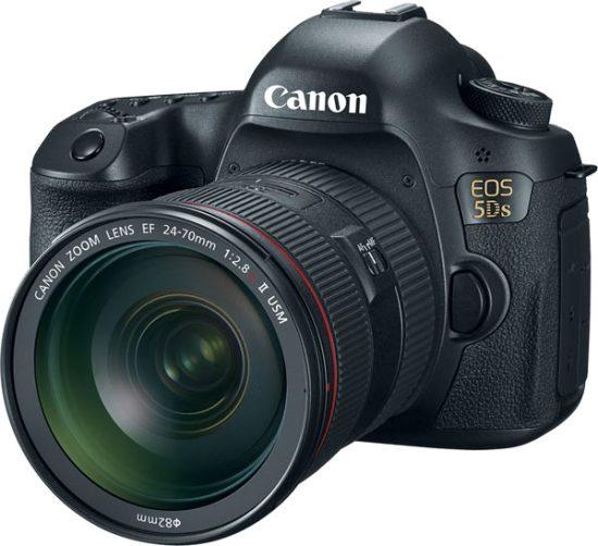 Canon EOS 5DS camera