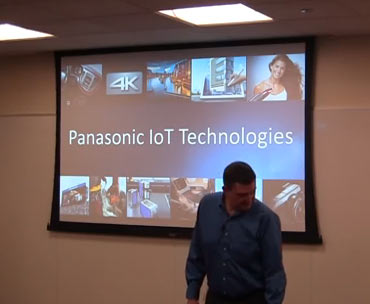 """Image extracted from video """"Mars 2, 2015 - Panasonic IoT Technologies"""""""