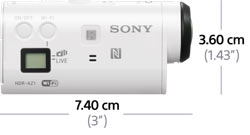 Sony AZ1VR Action Cam Mini