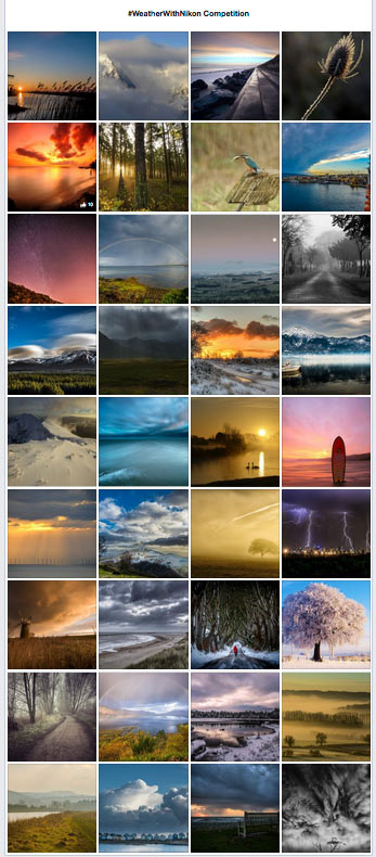 #WeatherWithNikon Competition: Final Shortlist