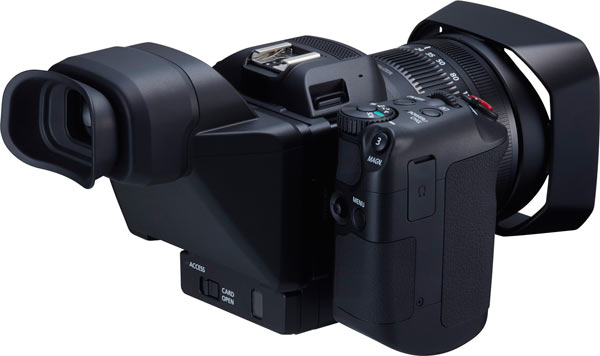 Canon XC10 with Direct Viewfinder