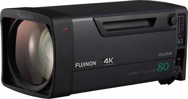 FUJINON UA80x9, 4K