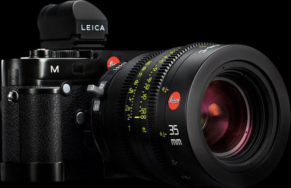 Leica M (typ-240) camera with Leica M PL Mount and viewfinder