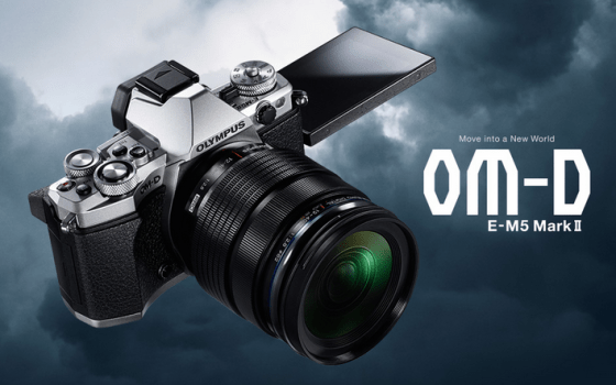 """Olympus OM-D E-M5 Mark II: """"Move into a New World"""""""