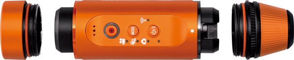 Panasonic Camera HX-A1, orange