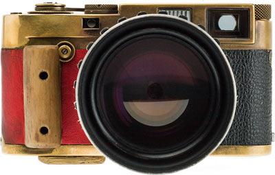 One of Vladimir's modified Leica M rangefinders: Leica M2 937 172.