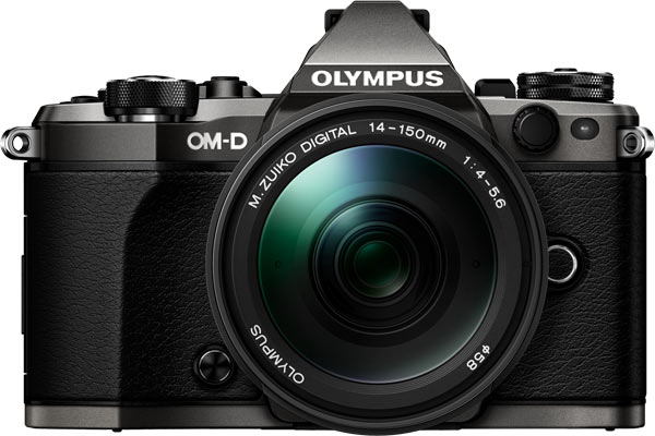 OM-D E-M5 Mark II Limited Edition in a kit with the zoom M.ZUIKO DIGITAL ED 14-150mm 1:4.0-5.6 II lens
