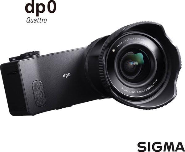 SIGMA dp0 Quattro with lens hood