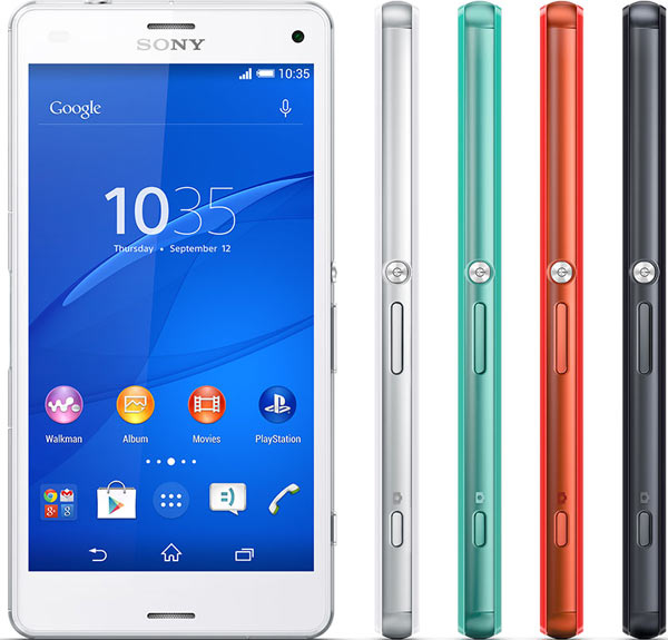 Sony Xperia Z3 Compact smartphones
