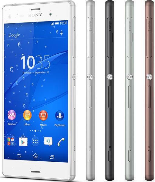 Sony Xperia Z3 smartphones