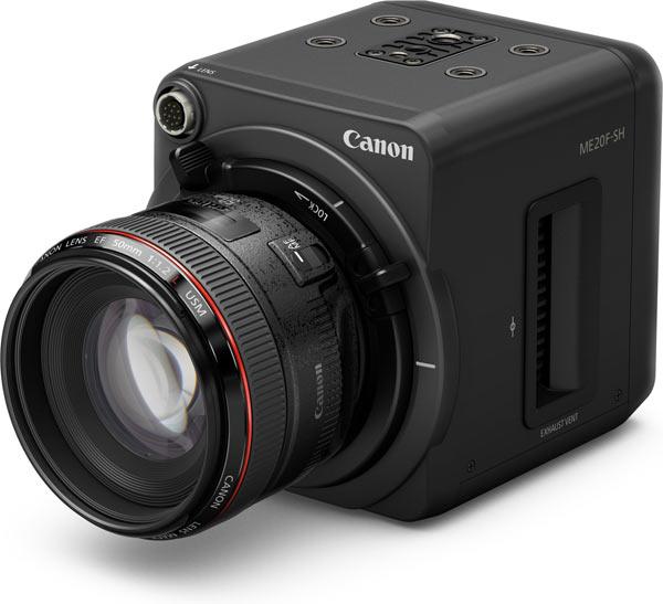 Canon Ultra-High-Sensitivity Multi-Purpose Camera ME20F-SH with Canon EF 50mm f/1.2L USM lens