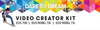 Canon's Video Creator Kits