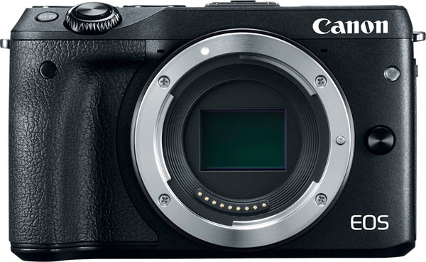 Canon's EOS M3 Digital Camera (body only, black)
