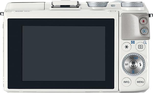 Canon EOS M3, white