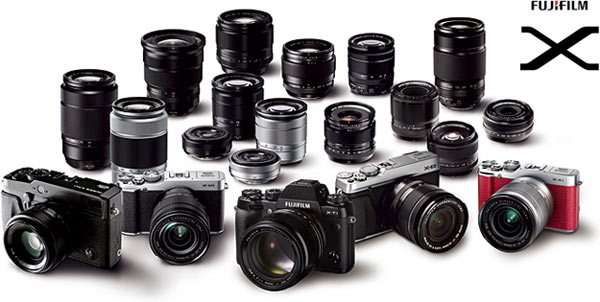 FUJIFILM X-Series cameras and FUJINON XF lenses