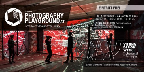 Olympus Photography Playground Vienna 2015: Free admission and free rental of Olympus OM-D cameras
