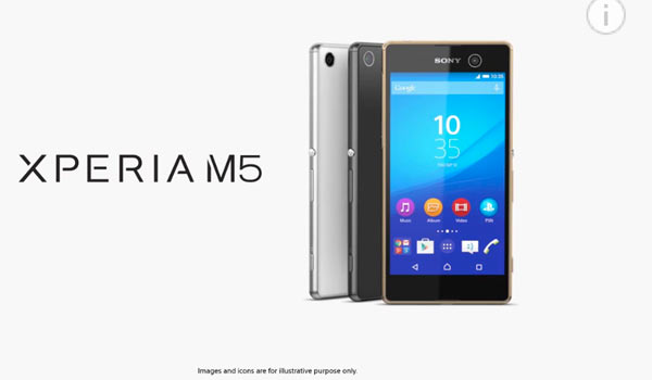 Sony Xperia M5: image grab from video below
