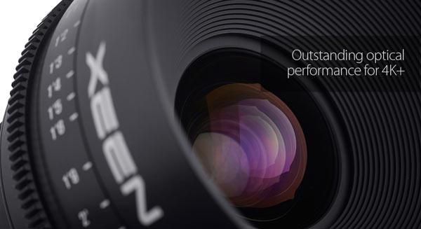 Xeen Lens for 4K+