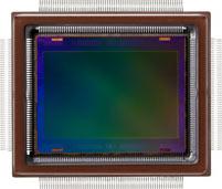 The Canon-developed approximately 250-megapixel CMOS sensor