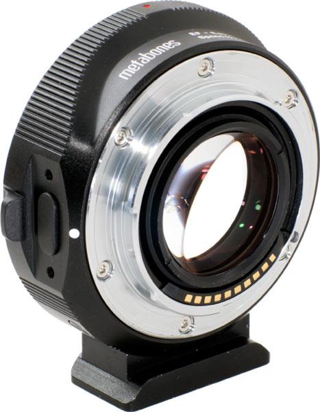 Metabones EF-Micro Four Thirds Speed Booster S (model number MB_SPEF-M43-BM2)