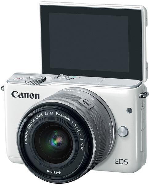 Canon EOS M10, white