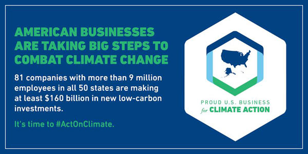Sony Participates in the American Business Act on Climate Pledge Launched by White House